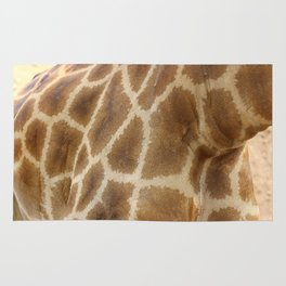 skin of a giraffe Rug