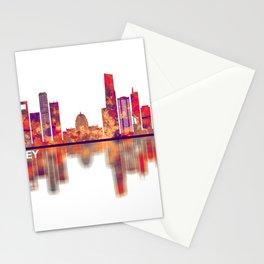 Monterrey Mexico Skyline Stationery Cards