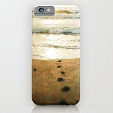 Tracks Into the Sea iPhone 6s Slim Case