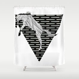 year of the horse: part 4 Shower Curtain