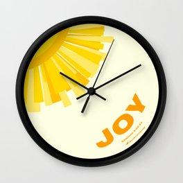 Fruit of the Spirit, Joy Wall Clock