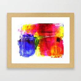 Joyful color Framed Art Print