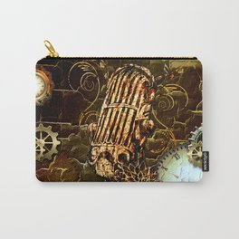 Steampunk, micropphone Carry-All Pouch