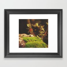 created beauty Framed Art Print