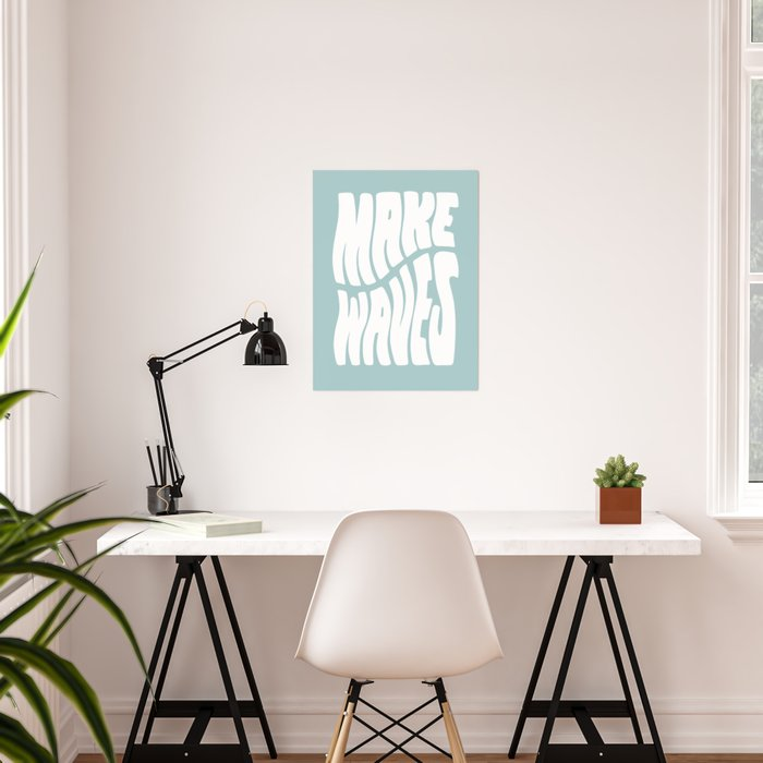 Make Waves Poster