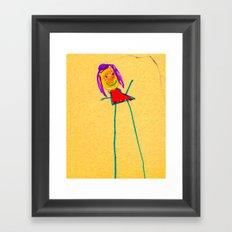 What's up Framed Art Print