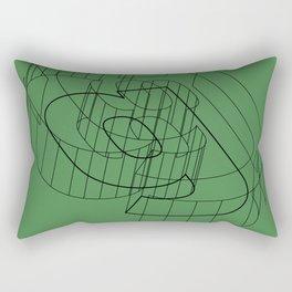 g like green Rectangular Pillow