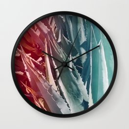 Cactus in Marfa - PrettyNature Wall Clock