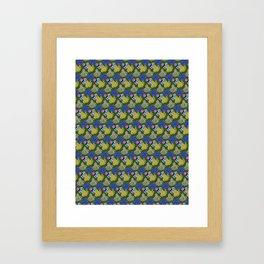 Kyle's babies print (Lilac) Framed Art Print