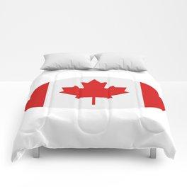 flag canada Comforters