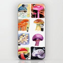 Mushrooms with Tony iPhone Skin