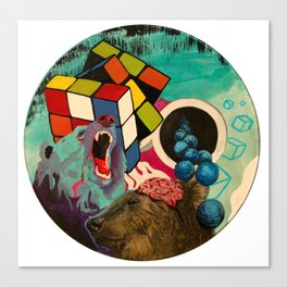 Rubix Canvas Print