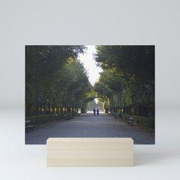 schönbrunn stroll Mini Art Print