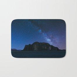 Milky Way Over Wadi Rum Bath Mat