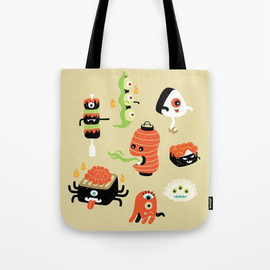 Izakaya Monsters Tote Bag