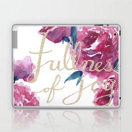 Roses - Fullness of Joy Psalm 16:11 Laptop & iPad Skin