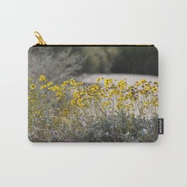 Brittle Bush 2 At .... Wildlife Preserve Carry-All Pouch
