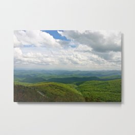 Rough Ridge Metal Print