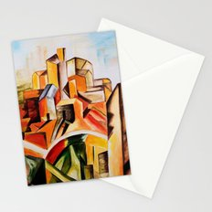 Reservoir Horta - Tribute to Picasso Stationery Cards