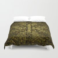 shells Duvet Covers featuring Shells by GLR67