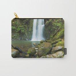 II - Rainforest waterfalls, Beauchamp Falls, Great Otway NP, Victoria, Australia Carry-All Pouch