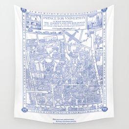 PRINCETON university map NEW JERSEY dorm decor Wall Tapestry