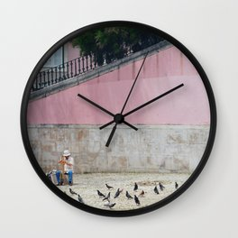 Paint me pink Wall Clock