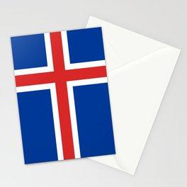 Flag of Iceland Stationery Cards