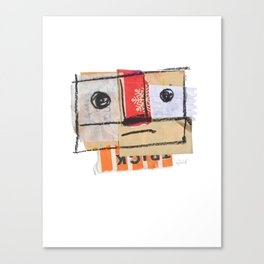 At least we tried. Canvas Print