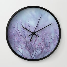 Pale Spring Wall Clock