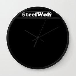 SteelWolf  Wall Clock