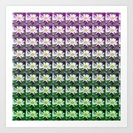 daisypattern Art Print