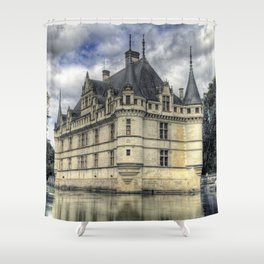 Azay-le-Rideau Shower Curtain