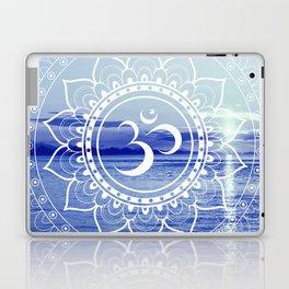 Om Mandala : Blue Waters Laptop & iPad Skin