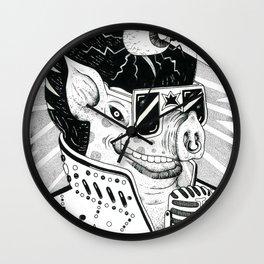 cerdo soulero Wall Clock