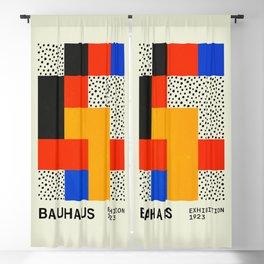 Bauhaus Exhibition 1923 I: Mid Century Series Blackout Curtain