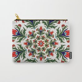 Turkish tulip - Ottoman tile 1 Carry-All Pouch