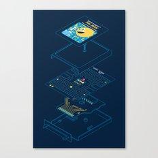 Blueprint Waka-Waka Canvas Print
