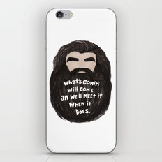 An' We'll Meet It iPhone & iPod Skin