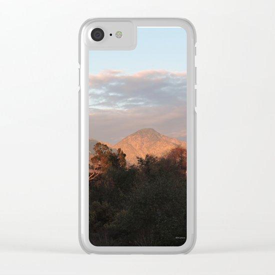 Near Sunset Clear iPhone Case