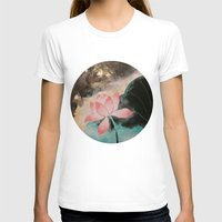 lotus T-shirts featuring Lotus by Priscilla Moore