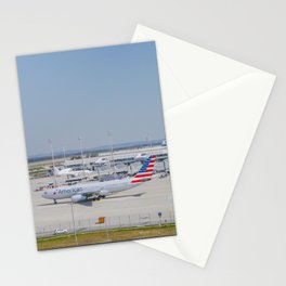 Flight AA717 MUC-PHL Stationery Cards