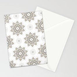 WOLF (white) Skull Pattern Series Stationery Cards