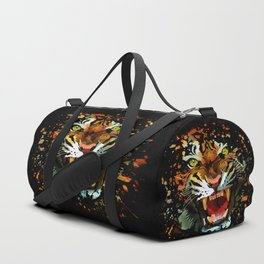 Tiger Roar Splatter Duffle Bag