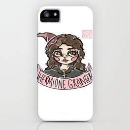 """""""The Brightest Witch of Her Age."""" iPhone Case"""