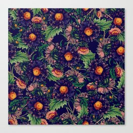 CHAMOMILE FOREST Canvas Print