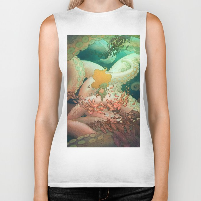 Listen To Me And I'll Tell You A Story Biker Tank