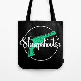 The Sharpshooter Tote Bag
