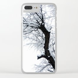 Winters Last Stance: Part 3 Clear iPhone Case