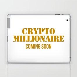 CRYPTO MILLIONAIRE Laptop & iPad Skin